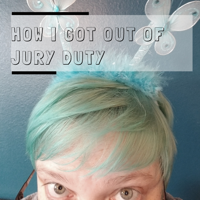How I Got Out of Jury Duty – Much Red Ink